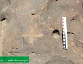 """بالصور.. """"الآثار""""  تكتشف صخورا أثرية  تعود لما قبل التاريخ فى أسوان"""