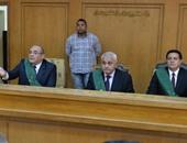 """بالصور.. وصول هيئة محاكمة صلاح هلال و3 آخرين بقضية """"رشوة وزارة الزراعة"""""""
