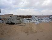حملة لإزالة تعديات على أراض شرق النيل ببنى سويف