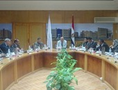 رئيس جامعة كفر الشيخ يستقبل مدير مركز بحوث السرطان بجامعة الإسكندرية