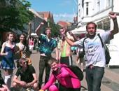 """بالفيديو..""""حجاجوفيتش"""" يعرض احتفالات الطلبة بانتهاء الامتحانات فى أوروبا"""