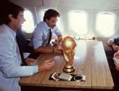التبرع بطائرة الازورى الفائز بمونديال 1982