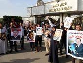 """بالفيديو الصور..مؤيدو مبارك للرئيس الأسبق فى ذكرى تحرير طابا: """"سبت فراغ كبير"""""""