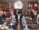 وزيرة التعاون الدولى تناقش مع رئيس جامعة الأزهر دعم المشروعات التنموية