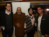 """منة شلبى وهالة خليل وخالد أبو النجا فى العرض الخاص لفيلم """"نوارة"""""""