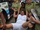 كوبا تحظر تظاهرة للمعارضة وتتهم المنظمين لها بالمدعومين من أمريكا