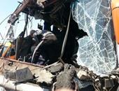 التحفظ على سائق أتوبيس فى حادث مصرع 4 أشخاص من أسرة واحدة فى الجيزة
