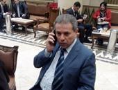 احتجاز توفيق عكاشة بقسم شرطة المنصورة لاتهامه بخطف نجله