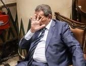 """بالفيديو.. عكاشة بعد القبض عليه لاتهامه بخطف نجله: """"يا باشا اعدمنى"""""""