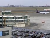 إلغاء 60 رحلة فى مطار بروكسل بسبب عاصفة