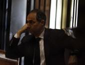 """بالصور.. وصول جمال وعلاء مبارك لحضور جلسة محاكمتهما فى قضية """"التلاعب بالبورصة"""""""