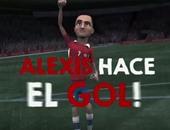 بالفيديو ..تشيلى تدعم سانشيز بأغنية قبل مواجهة الأرجنتين