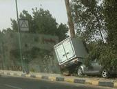 صحافة المواطن.. حادث تصادم على طريق مطار الغردقة ولا وفيات