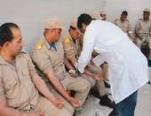 بالصور.. طلاب معهد أمناء الشرطة يتبرعون بدمائهم للمرضى