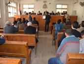 وصول حقوقيين محكمة التجمع للتضامن مع رئيسة مركز نظرة بقضية التمويل الأجنبى