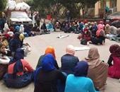 صحافة المواطن.. وقفة بكلية تربية تاريخ عين شمس بعد رسوب 64طالبة من أصل 85