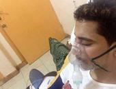 مواطن يطلب المساعدة لعلاج نجله المصاب بقطع فى الحبل الشوكى