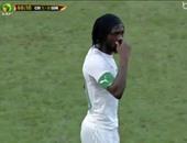 شاهد.. جيرفينيو يهدر انفرادا خطيرا أمام المغرب فى تصفيات المونديال