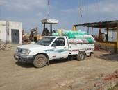 ضبط 11 طن أعلاف مجهولة المصدر خلال حملة تموينية فى البحيرة