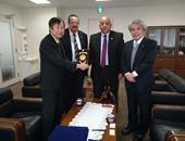 جامعة السادات توقع اتفاقية مع جامعة أوساكا اليابانية للتعاون العلمى والأكاديمى