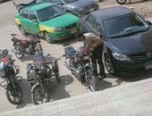حبس عاطل متهم بسرقة دراجة بخارية فى بولاق الدكرور