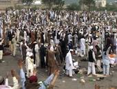 بالصور.. الباكستانيون يواصلون الاعتصام احتجاجا على إعدام قاتل حاكم البنجاب