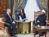 الإمام الأكبر لسفير المجر: الأزهر من المؤسسات التى أدركت خطر الإرهاب مبكرا