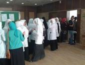 اتحاد طلاب تمريض طنطا يشارك صحافة المواطن بصور عن حملة الكشف على فيروس سي