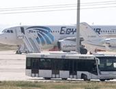 النيابة تستعجل محتوى كاميرات مطار برج العرب لكشف تحركات خاطف الطائرة