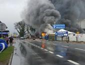 إصابة 8 أشخاص فى انفجار ضخم على الحدود الألمانية البولندية (تحديث)