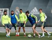 الكلاسيكو ..بالصور.. لأول مرة ريال مدريد يستعد بكامل نجومه لبرشلونة