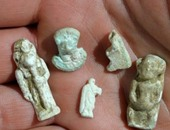 فرعونية ورومانية وإسلامية.. تعرف على القطع المشتبه فى أثريتها المضبوطة فى الهرم