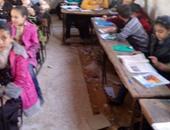 بالصور.. أولياء أمور مدرسة محمود سامى البارودى بشبرا يطالبون بإنهاء الصيانة