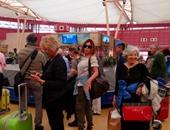 مطار شرم الشيخ يستقبل 5421 سائحًا من جنسيات مختلفة