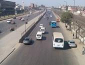 كاميرات لرصد الكثافات بمحيط إنشاء كوبرى مشاة بطريق إسكندرية الزراعى