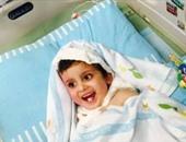 """الطفل الفلسطينى """"الدوابشة"""" يلتقى رونالدو بعد نجاته من الحرق على يد مستوطنين"""