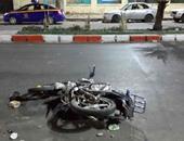 إصابة 3 فى حادث انقلاب دراجة بخارية بالبلينا سوهاج