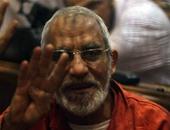 اليوم.. استكمال محاكمة بديع و104 آخرين فى أحداث عنف الإسماعيلية