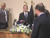 وزير الداخلية يعرض تسجيلا يوثق اعترافات المتهمين فى اغتيال النائب العام