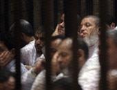 """بالصور.. بدء محاكمة """"بديع"""" و104 آخرين فى """"أحداث عنف الإسماعيلية"""".. و المرشد يتغيب"""