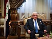 الرئيس العراقي يؤكد للسيسي تضامن بلاده الكامل مع مصر ضد الإرهاب