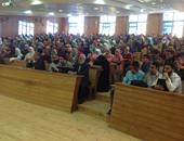 أهمية العمل والأمل فى حياتنا بندوة دينية بجامعة كفر الشيخ