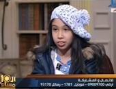 """شاهد الطفلة جويرية حمدى ترتل آيات من """"سورة الملك"""" على الهواء"""