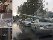 مقتل ستة أشخاص بسبب الأمطار الغزيرة فى الإمارات وسلطنة عمان