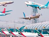 نمو حركة نقل المسافرين عبر مطار دبى 1.7% فى أغسطس