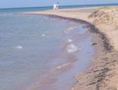 """تسرب بقعة زيت فى ساحل """"جزر الخالدات"""" الإسبانية إثر اصطدام عبارة برصيف بحرى"""