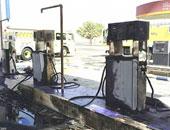 السيطرة على حريق شب فى محطة وقود بأسيوط دون وقوع خسائر بشرية
