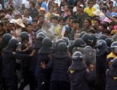إصابة 33 شخصا واعتقال 22 آخرين خلال مسيرة فى تايلاند