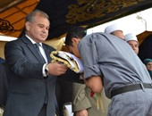 رئيس جامعة الإسكندرية يفتتح مهرجان فرق الجوالة بنادى الوفاء بالمكس