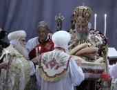 قداس عيد القيامة على الهواء مباشرة بقناة النيل الثقافية
